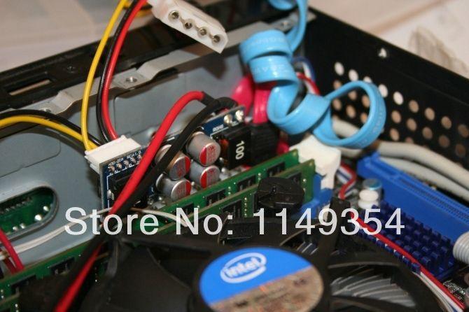 5pcs DC 12V Pico ATX switch PSU Car Auto MINI ITX ATX Power Supply 160W(China (Mainland))