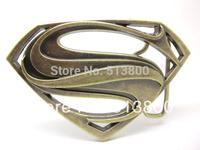 Bronze color The man of steel superman Belt Buckle