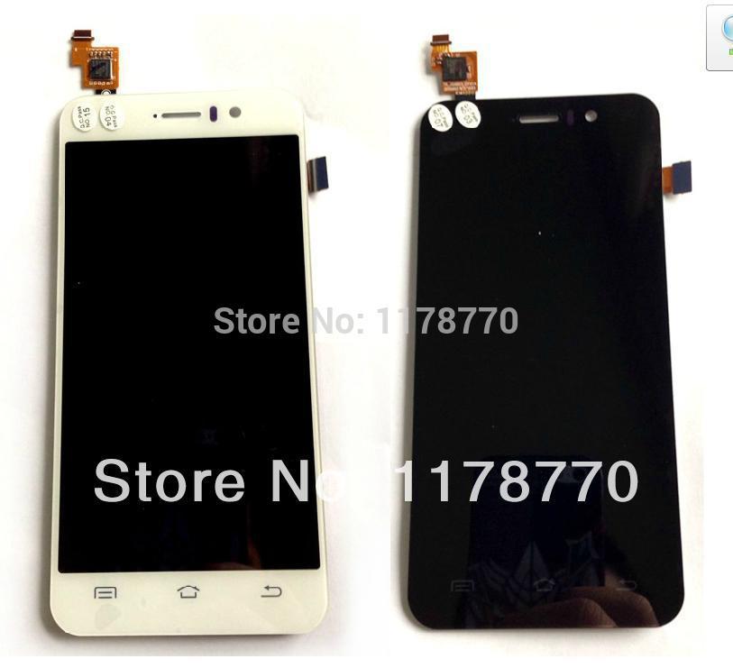 Nova LCD original e Touch Screen digitador Assembléia para telefone celular g4 jiayu preto frete grátis(China (Mainland))