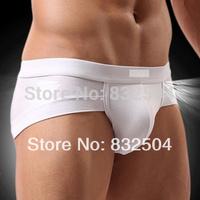 Comfortable Sexy Men's U convex modal men's briefs bamboo fiber cotton men's underwear angle pants care Shorts 2Pcs/Lot