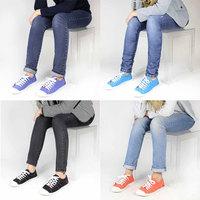 Spring and summer paragraph women's shoes le temps des cerises cherry canvas shoes cotton-made casual shoes
