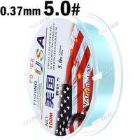 5# 100m Long 0.37mm Diameter 25kg Abrasion Resistant Fishing Line Spool Fishing Rope YH-132322
