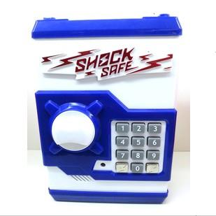Mini shock safe box atm piggy bank automatic roll oversized safe(China (Mainland))