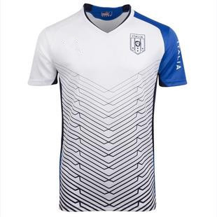 Hot sale 2013/14 of Italy's national uniform training suit a white shirt in sports training football jersey dress free shipping(China (Mainland))