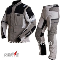 Germany NERVE Top Dry Card Motorcycle clothing Rally Set Four seasons Universal Waterproof Anti-fall Motorcycle clothing suits