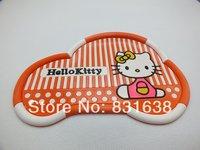 Free shipping new cute KT cat car mat seat perfume phone navigation slip mat