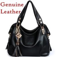 new 2014! women genuine leather handbags women bag women messenger bags women handbag genuine leather bags shoulder bags totes
