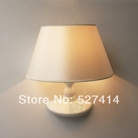 Free shipping, free shipping, work and study in Europe retro bedroom bedside wall lamp, diameter 28cm*45cm