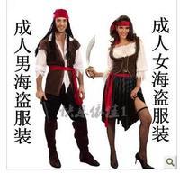Halloween cosplay clothing captain jack clothing adult clothing