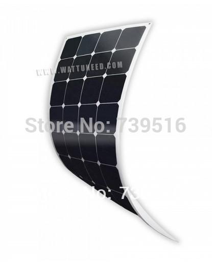 100W Sun power flexible solar panel module(China (Mainland))