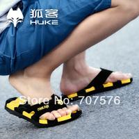 Summer lovers male flip flops beach slippers sandals bumblebee slip-resistant male slippers