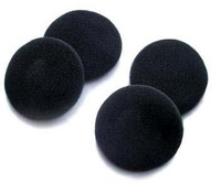 100 Pairs x 50MM GOOD Quality Headphone Earphone  Foam Cover Ear Pads Black
