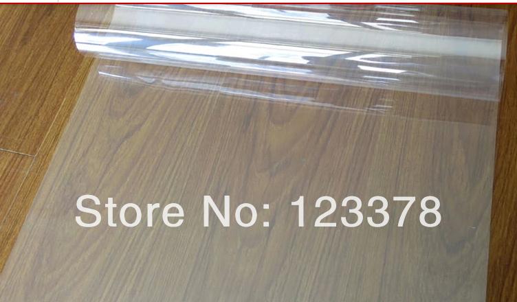 Explosion-proof membrane pure transparent glass protective film furniture film wardrobe building membrane glass film free ship(China (Mainland))