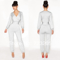 2014 Wholesale and Retail All Kinds of Jumpsuit Europe and America Style Jumpsuit 4 Colors Solid Jumpsuit Supply Sexy Jumpsut