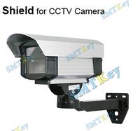 Outdoor Security CCTV Camera Aluminum Shield Housing w/ Bracket
