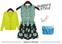 Summer Nwe Cute  Shivering Sleeveless Dress Sweet Princess Dress