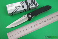 LAND SANRENMU Folding Knife GB902 Steel+ G10 Handle 440C 56HRC Blade Camping Tool Tactical hunting knives tools Free shipping