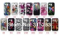 1pcs Flower butterfly shooting star jellyfish zebra UK US Flag Hard back Case Cover For Motorola Moto G DVX Free shipping