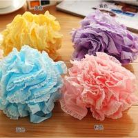 1493 lace bath ball bathsite foam bath brush bath rub laciness
