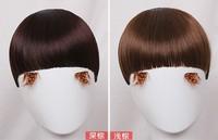 4 colors, straight bangs, synthetic hair bangs, wholesale price, 50pcs/lot