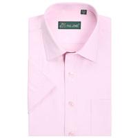 Men's clothes 2014 spring/summer business casual korean men polyester cotton short-sleeved shirt mens slim lapel shirt tops