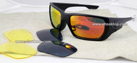 6colors fashion style switch 3 lens sport eyeglasses polarized sunglasses occhiali men sun glasses gafas de sol anteojos oculos