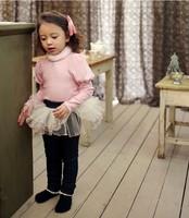Children girls skirts pants wholesale fashion leisure lace