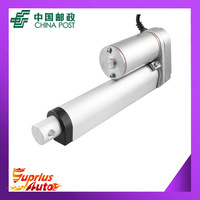 Free Shipping 12v linear actuator with 100mm stroke 225lbs load actuator linear speed of 10mm/s