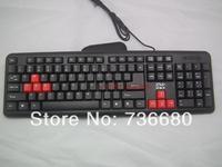 Original Brand 105 keys USB Wired Professional Gaming Keyboard Key Board PC Computer Game keyboard