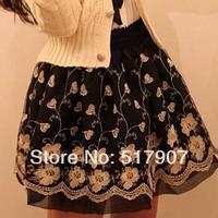 Wholesale Lace Organza Up Mini Skirt, Sexy Bud Mini Skirts, Women High Quality Stretchable Waist Short Mini Dress
