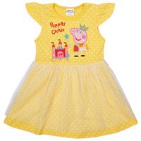 girl dress peppa pig 2014 new Nova kids clothing polka dots fashion girls summer short sleeve party princess lace dress