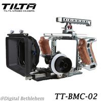 Tilta BMCC rig Pro kit for BlackMagic Camera Cage + A/B follow focus + Matte box Free shipping