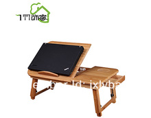 BAMBOO COMPUTER TABLE CAN USE IT ON BED BEAUTY AND CONVENIENT(China (Mainland))
