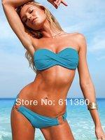 Free Shipping 2014 Fashion Brand Women Sexy Bikini Set Swimsuits Swimwear Beachwear Beauty Women 3029