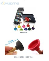 Free shipping Wholesale  Stylish Mobile Phone Stands Holders For iPhone Galaxy HTC Mp4 Toilet Phone Sucker Holders RJ1556