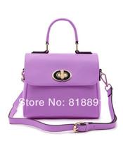 2014 Spring NEW High Quality Saddle Candy Cow Leather Trend All-match Messenger Bags/ Branded Shoulder Bag/Handbag