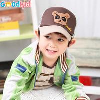 Bear Printed Baby Hats Caps Kids Baseball Hats Child Baseball Caps Sunbonnet Sun Hat 2014 New Spring Autumn For baby 1-3 years
