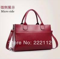 Fashion Brief New 2014 Women's Leather Designers Brand Handbags Shoulder Bag Messenger Bag