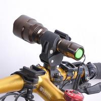 1 Piece High Quality Bicycle Flashlight Mount Holder & Bike Universal Flashlight Torch Holder  & Cycling Light Mount Clip New