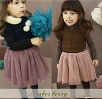 Brand children's clothes Autumn and winter dress girls fashion Manufacturer sales