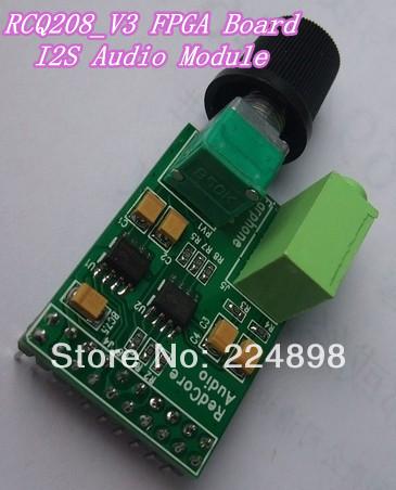 RCQ208_V3 FPGA Development Board I2S Audio Module(China (Mainland))