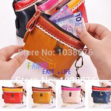 Retro Women Lady Girl Coin Money Bag Purse Wallet Card Case Vogue Retro Handbag Gift FREESHIPPING(China (Mainland))