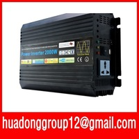 2000VA PURE SINE WAVE INVERTER (24V DC 120VAC 230VAC 4000W 4KW PEAKING) Door to Door Free Shipping