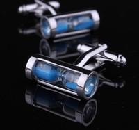 The real hourglass cufflinks, men's cufflinks AS-5