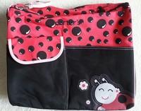 FREE SHIPPING high quality red ladybird carter's messenger animal print carter diaper bag brown green giraffe babyboom mummy bag