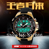 Free shipping!skmei 1016 sports wateproof watches Japan digital classical durable details quartz watches analog digital watches