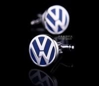 Volkswagen Car Sign Shape Cufflinks , men's cuff link   AS-11