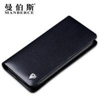 brand wallet men long designer zipper black multi genuine leather wallets clutch bag purse mens wallet carteira masculina couro