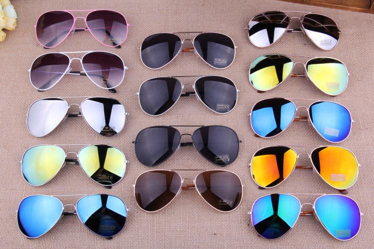16 Colors New 2014 Fashion Vintage Coating Sunglasses Brand Designer Men Women Aviator 3025 Sun Glasses Oculos De Sol Gafas 3026(China (Mainland))