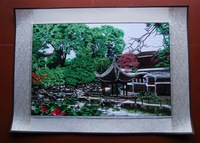 free shipping Suzhou embroidery finished product decorative painting embroidery crafts business gift